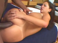 Busty Babe Takes BBC Like A Champ - Third World Media