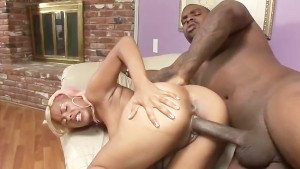Putting It All In Her Black Pussy - Black Market