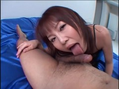 Asian girlfriend gives an awesome blowjob - Third World Media