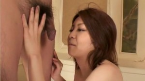 Cute asian girl gives a nice blowjob - Third World Media
