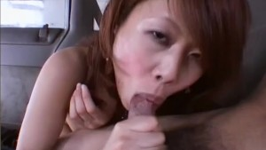 Asian sucks my cock while driving - Third World Media