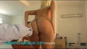 Beautiful czech blonde lapdances