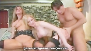 Michelle B and Monica Sweetheart foursome at GenesisMagazine