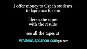 Footjob, handjob and lapdance by czech teen