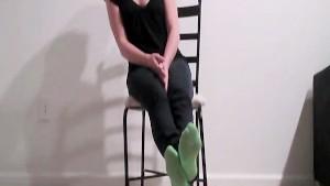 Sock goddess Amber
