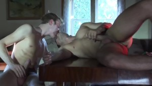 Straight Roommates Experimenting - ALL MALE STUDIO