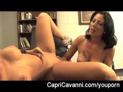 Picture Capri Cavanni Office Slut