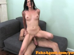 FakeAgent HD I fell in love with her pussy