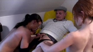 voyeur papy needs two chicks