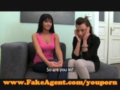 FakeAgent Love birds argue over takin...