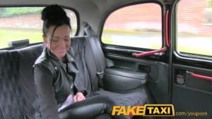 FakeTaxi – I cum in her ass