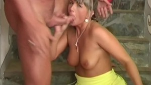 Blonde milf Christina fucked in her tight cunt - Pleasure Photorama