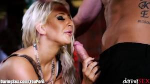 DaringSex Britsh Babe With Big Boobs Lives Her Fantasy