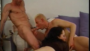 She needs two cocks, and he's cool with it - Legend
