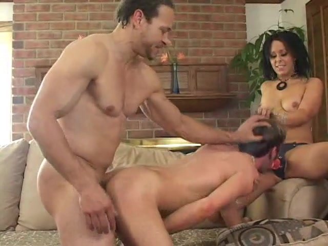 Bisexual husband fuking couple
