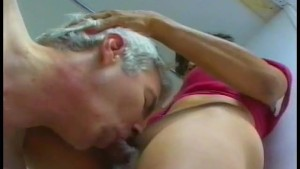 Older guy loves his shemale friend - Gentlemens Video
