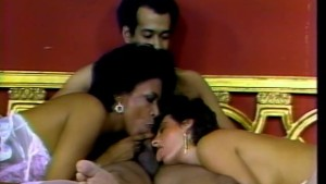 Lucky black guy gets two milf pussy on his dick - CDI