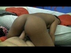 Picture Young and cute ebony wasn t impress by this...