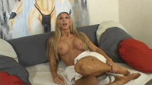 Blonde milf fucks the two roomies in the same day- Chris Charming