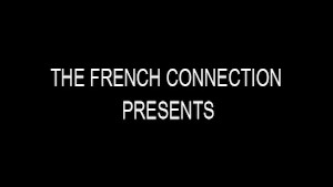 Big dick in his ass - The French Connection
