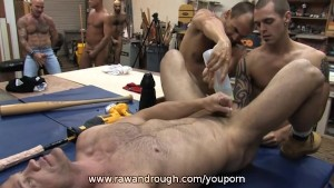 Chris and Andre Get Fisted