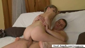 Kristina has just turned into an anal whore!