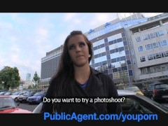 PublicAgent Morgan strips off an...