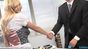 Lexi Belle is a Tight Slutty Secretary