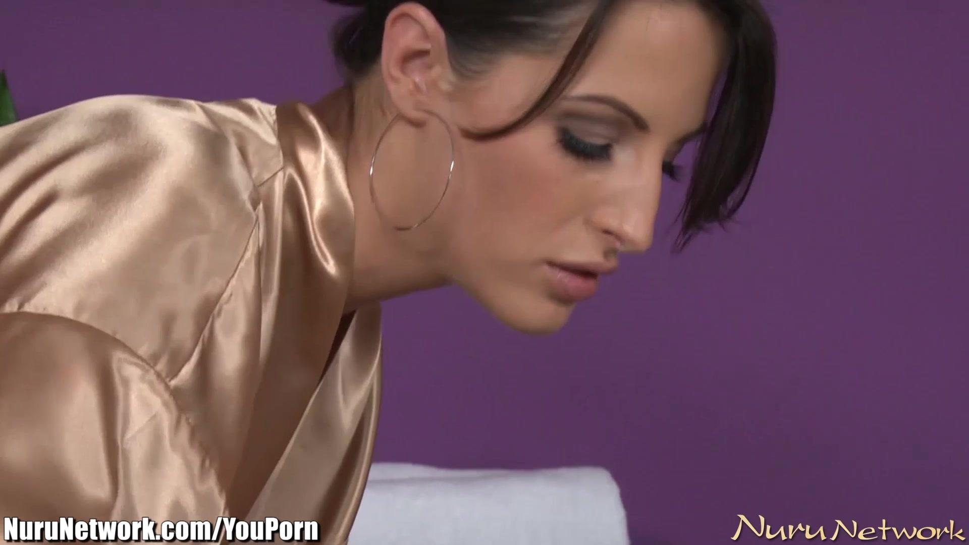 NuruNetwork Tiny Teen Seduced in a Lesbian Massage