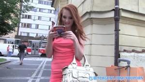 PublicAgent HD Ginger stunner ride my cock underground