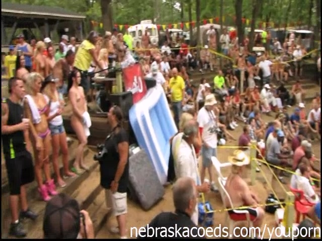 Amateur Contests at Nudes a Poppin Festival in Indiana Summer 2012