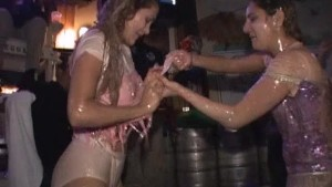 White Trash Bash with Pudding Wrestling Girls