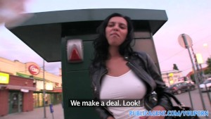 PublicAgent HD Big boobed Russian bent over and fucked against my car