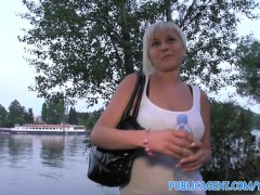 PublicAgent HD Cute short haired blonde has a really tight pussy