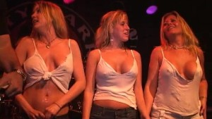 Perfect Tits in This Wet T-Shirt Contest