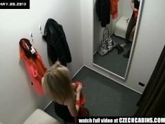 VOYEUR Two Hidden Security Cams in Changing Room