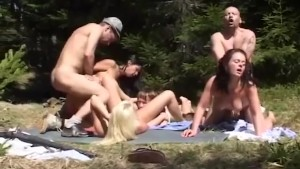 german mountain fuck orgy
