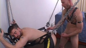 Brandon and Ardon Bareback Sling Fun