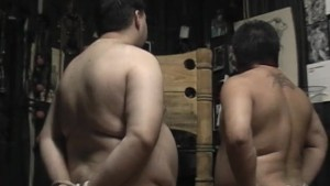Two bound guys suckings some cock - Pig Daddy Productions