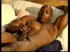 Sexy black guy makes his nice dick cum - Pacific Sun Entertainment