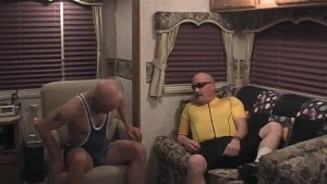 Mature guys in lycra fuck hard - Pig Daddy Productions