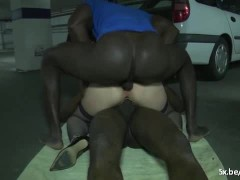 Lise a French mature and 2 black cocks