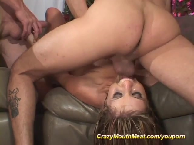 gangbang cum in mouth