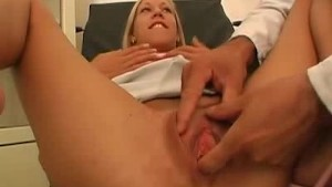 Fingering Inside The Clinic