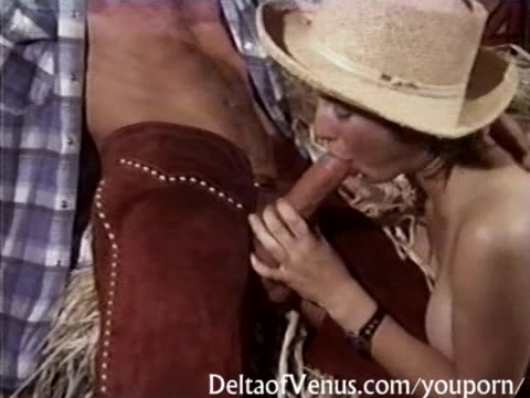 Vintage Porn - Hairy Teen Cowgirl Has Sex