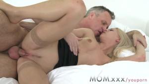 MOM Blonde MILF gets a good fucking
