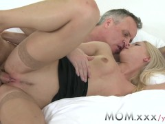 MOM Blonde MILF gets a good fucking