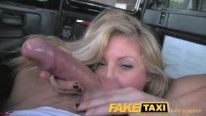 FakeTaxi Horny after interview and gagging for a big cock
