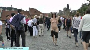WOW! Eileen Sue Naked In Public