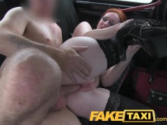 - FakeTaxi Red head with...